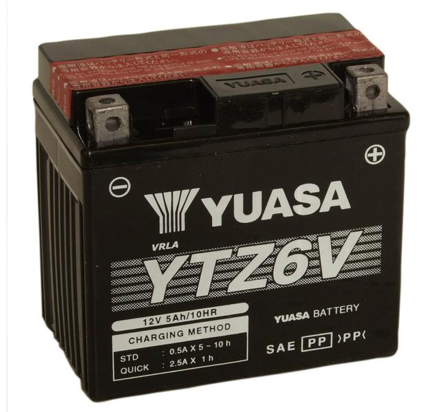 BATTERIA YUASA YB4L-B HONDA MTX R 125  R/>125 CC