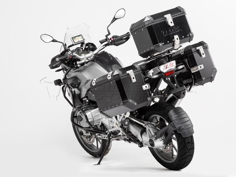 pannier system trax evo bmw r1200gs 2013- black 37l/45l | mpartz