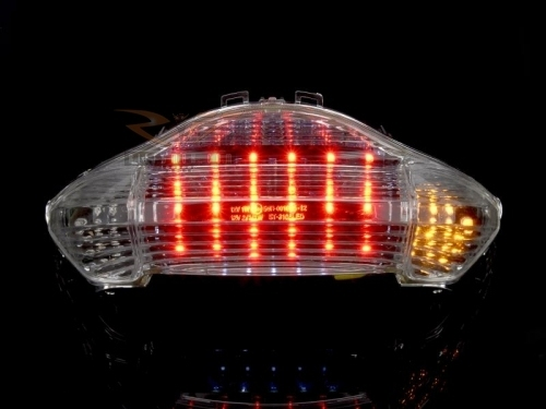 LED clear taillight Honda VFR800 98-01