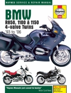 Workshop Manual Haynes BMW R850, R1100 and R1150 93-06