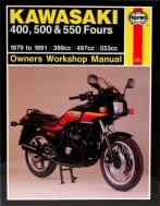 Workshop Manual Haynes Kawasaki 400, 500 and 550 79-91
