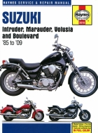 Workshop Manual Haynes Suzuki Intruder, Marauder, Volusia and Boulevard 85-06