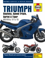 Workshop Manual Haynes Triumph Daytona, Speed Triple, Sprint and Tiger 97-05