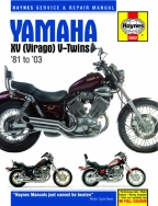 Workshop Manual Haynes Yamaha XV Virago 81-03